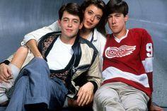 Matthew Broderick, Mia Sara and Alan Ruck in 'Ferris Bueller's Day Off' (1986)