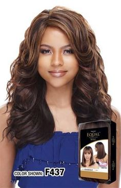Equal Gala Wig Color Show, Equality, Wigs, Long Hair Styles, Africa, Beauty, Collection, Hair Wigs, Beleza