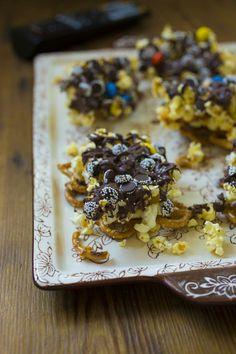 temp-tations® by Tara: Candy Popcorn Casserole: Movie Night Treat