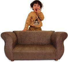 Amazon.com: Fantasy Furniture Fancy Sofa, Brown: Baby