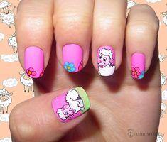 9 Pretty Sheep Nail Art Designs  #nails #nailart #naildesign