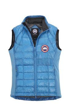 Men Hybridge Lite Vest Canada Goose blue topaz