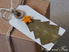 Riciclo Creativo - Craft and Fun: Biglietti Auguri di Natale fai da te