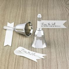 Gift for Guest at Wedding involving a bell | ... make seven simple but oh-so-chic DIY wedding gifts for your guests