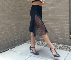 Monica French Lace Tango skirt by 5THDIMENSIONNEWYORK on Etsy
