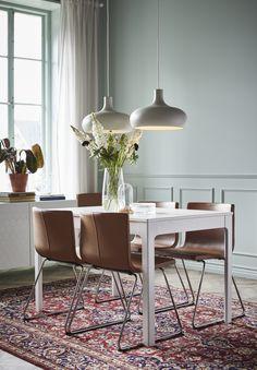 57c8da4b2b8 IKEA EKEDALEN Mesa extensible Blanco x 80 cm Está diseñada de forma que no  presenta uniones cuando se usa sin extender.