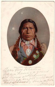James A. Garfield, Apache Chief 1897