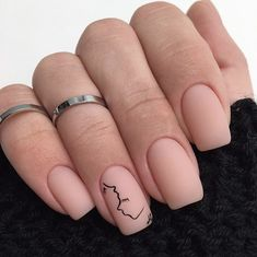 Semi-permanent varnish, false nails, patches: which manicure to choose? - My Nails Square Acrylic Nails, Acrylic Nail Designs, Nail Art Designs, Square Nails, Nails Design, Acrylic Gel, Gold Nails, Matte Nails, Fun Nails