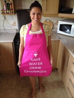 """I want mine to say """"Save Water, Drink Wine"""" lol not a fan of champagne but i do enjoy a good glass of white wine =)"""
