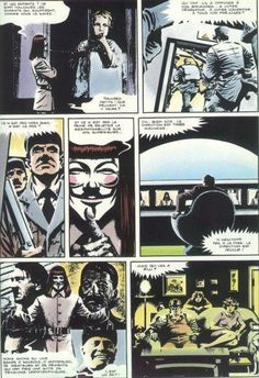 V pour Vendetta (1982-1990) - Alan Moore & David Lloyd