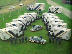 Ford Rally Team - cars, vans and trucks (C 1990)