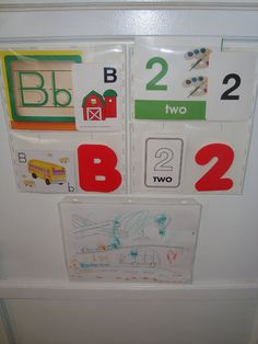 Im going to use this idea for Number and Letter of the week.