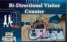 In this tutorial we will see how to make bi directional visitor counter by using 7 segment display and ultrasonic sensor. It will count how many person/object are in the system and subtract, which left …