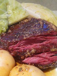 Delicious corned beef recipe
