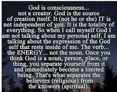 Nothing is outside of God, only the beliefs that someone or something is. All are One In Spirit ,all strands of the one infinite consciousness.loving happiness our true nature.all at different stages on the journey of self knowledge.Love is our salvation. Spiritual Wisdom, Spiritual Growth, Spiritual Power, Spiritual Awareness, Religion Vs Spirituality, Spiritual Awakening Quotes, Spiritual Thoughts, Spiritual Enlightenment, Healing Quotes