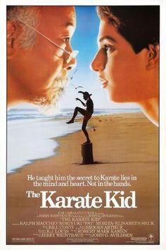 The Karate Kid 1984, Karate Kid Movie, Karate Kid Cobra Kai, 1980s Films, 80s Movies, Movies To Watch, 1984 Movie, Elisabeth Shue, Ralph Macchio