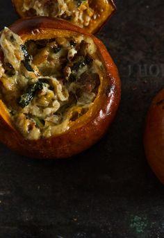 Pumpkins Stuffed with Everything Good Pumpkin... | Dinner was ...