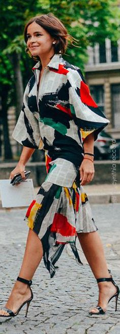 Miroslava Duma   Tomy Ton Street Style at Fashion Month   cynthia reccord