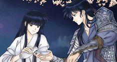 Inuyasha -Kikyo and Naraku by PangurBann.deviantart.com on @DeviantArt