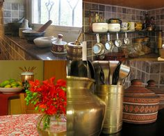 Ethnic Indian Decor Traditional Indian Kitchen Antiques n Vintage