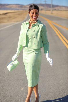 Vintage Style Dress and Jacket - Vogue 8687 & 8146