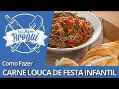 Ana Maria Brogui #18 - Como fazer Carne Louca de festa infantil - YouTube