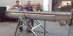 The ThermoVeyor | Food Processing Screw Conveyor - Astro Engineering