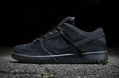 Nike SB Dunk Low Pro Black/Black • Highsnobiety