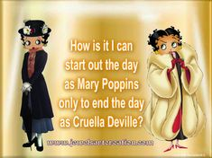 Image result for betty boop mary poppins