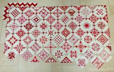 "The Farmer's Daughter quilt that she calls ""Nearly Insane.""  #quilting #farmers_daughter"
