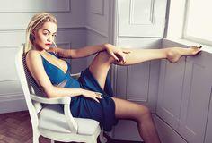 Actress and singer Rita Ora wears the La Perla Tribal dream night dress for ED Magazine
