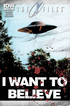 The X-Files #1 from IDW comics