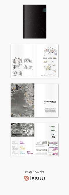 Architectural portfolio 2017 Architectural portfolio, Architect, Design, Sketch, Drawing,archjun #architectureportfolio
