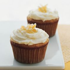 Carrot Cupcakes with Mascarpone Icing Recipe