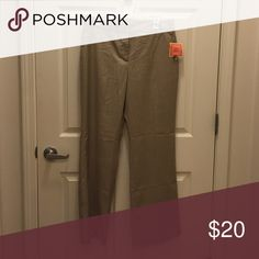 Isaac Mizrahi for Target trousers These are a great pair of work trousers. Neutral color pants that sit just below the waist. Issac Mizrahi for Target Pants Trousers