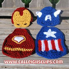 Calleigh's Clips & Crochet Creations: American Crusader- Cuddle Cape Set Released