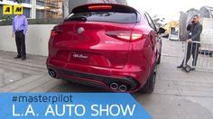 Alfa Romeo Stelvio | live @Los Angeles Auto Show 2016 [ENGLISH SUB]