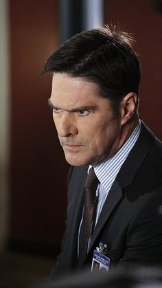 Titles: Criminal Minds, Internal Affairs Names: Thomas Gibson Characters: Aaron Hotchner