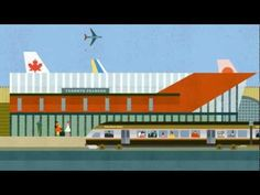 Union Pearson Express - Travel Happy, an animated short by Winkreative and Guru Studio.
