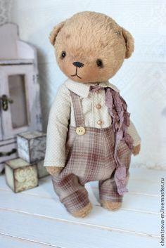 Гриша - мишки тедди,мишка,мишка в одежке,мишка ручной работы,коллекционные медведи