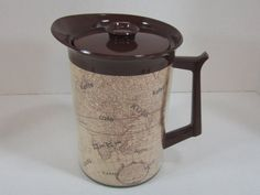 Vintage West Bend Pitcher Thermo Serv by DiverseCollectibles #westbend #pitcher #vintage