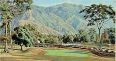 Oleo, pintura, painting, Manuel Cabre , Avila, Caracas Venezuela