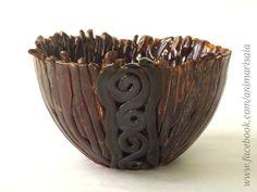 "Ciotola - Ceramic lab. RSA ""La Risaia"" - nursing home - www.facebook.com/animarisaia #rsa #casa di riposo"