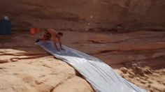 Totally unexpected water slide ride to Hell ~ #action #adventure #extreme #sports #gif