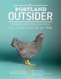 Portland Outsider (US) #magazine #cover #layout