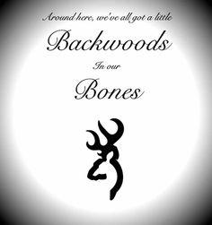 backwoods in our bones