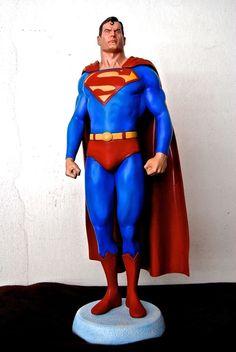 SuperMan Figure, Alex Ross