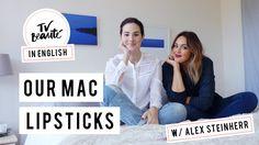Our MAC lipsticks   with Alex Steinherr - TV Beauté   Vic Ceridono