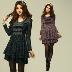 not exactly, but I like the shape, neck needs to be less scooped to keep vertical sihouette correct  http://i01.i.aliimg.com/wsphoto/v0/750351083/XL-4XL-long-sleeve-lace-maxi-dress-women-fit-slim-plus-size-dress-cute-large-size.jpg