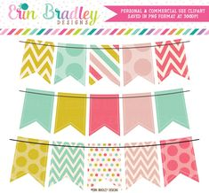 This 3 piece personal & commercial use clipart set includes bunting (banner flags) with polka dots, chevron & striped patterns. Chevron Banner, Bunting Banner, Banners, Buntings, Banner Ideas, Clipart Png, Clipart Design, Frame Clipart, Graduation Theme